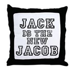Jack is the New Jacob Throw Pillow