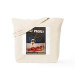 WWII Malaria Propaganda Poster Art Tote Bag