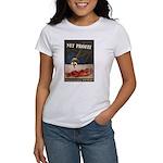 WWII Malaria Propaganda Poster Art Women's T-Shirt