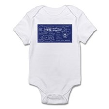 Atomic Earth Blaster Infant Bodysuit