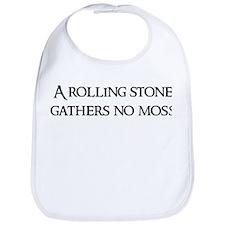 A rolling stone Bib