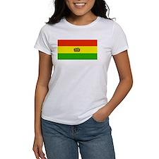 Bolivia Blank Flags Tee