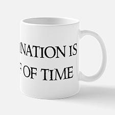 Procrastination is the thief Mug