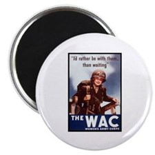 """WAC Women's Army Corps 2.25"""" Magnet (10 pack)"""