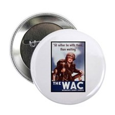 WAC Women's Army Corps Button