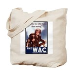 WAC Women's Army Corps Tote Bag