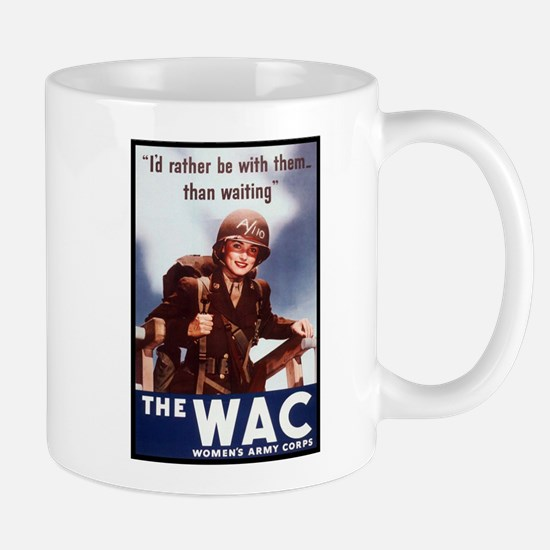 WAC Women's Army Corps Mug