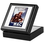 WAC Women's Army Corps Keepsake Box