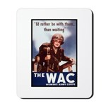 WAC Women's Army Corps Mousepad