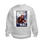 WAC Women's Army Corps Kids Sweatshirt