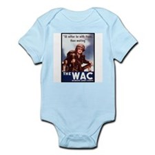 WAC Women's Army Corps Infant Creeper