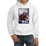 WAC Women's Army Corps (Front) Hooded Sweatshirt