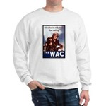 WAC Women's Army Corps (Front) Sweatshirt