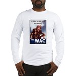 WAC Women's Army Corps Long Sleeve T-Shirt