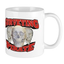 Surveying Pirate Mug