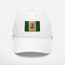 Vintage Nigeria Flag Baseball Baseball Cap