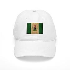 Vintage Nigeria Flag Baseball Cap