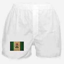 Vintage Nigeria Flag Boxer Shorts
