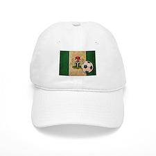Vintage Nigeria Football Baseball Cap