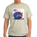 Born American Ash Grey T-Shirt
