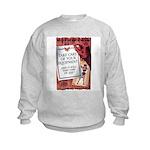 Equipment Care Propaganda (Front) Kids Sweatshirt