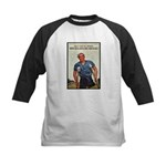 Patriotic Wounded Soldier Poster Art Kids Baseball