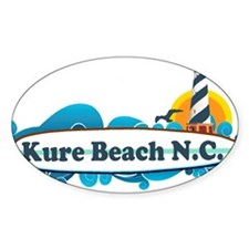 Kure Beach NC - Lighthouse Design Decal