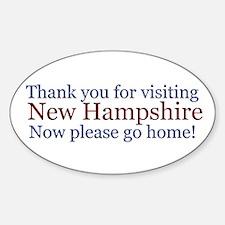 Visit NH Sticker (Oval)