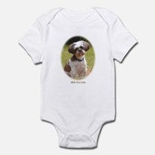 Shih Tzu Cute Infant Creeper