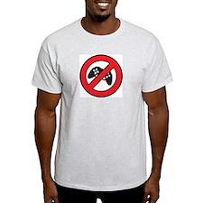 No Game Ash Grey T-Shirt