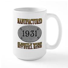 Manufactured 1931 Mug