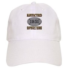 Manufactured 1931 Baseball Cap