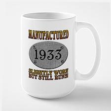 Manufactured 1933 Large Mug