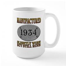 Manufactured 1934 Mug