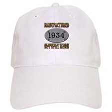 Manufactured 1934 Baseball Cap