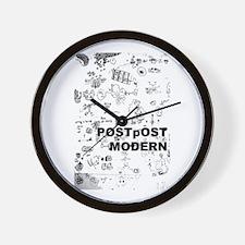 Post Postmodern Metacomic Wall Clock
