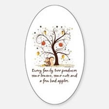 Family Tree Humor Decal