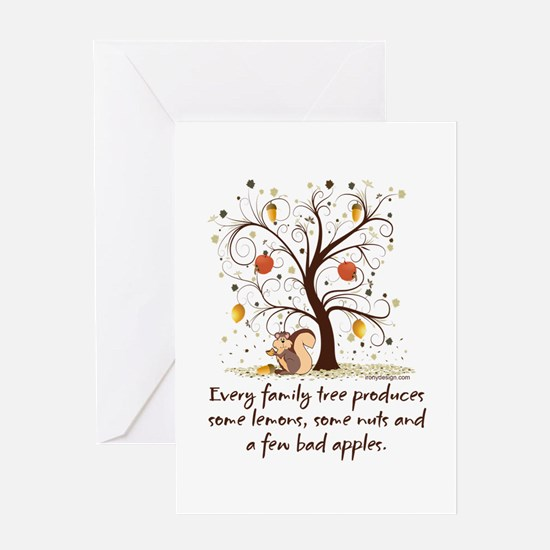 Family Tree Humor Greeting Card
