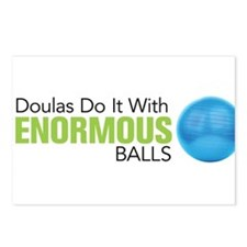 Doulas Do It With Enormous Balls Postcards (Packag