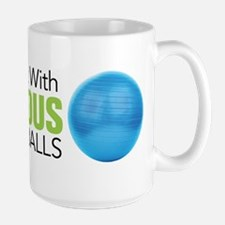 Doulas Do It With Enormous Balls Mug