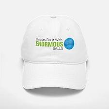 Doulas Do It With Enormous Balls Baseball Baseball Cap