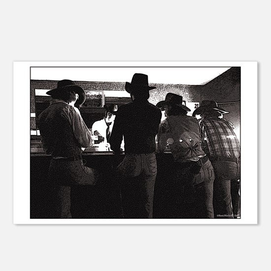 The Saloon Postcards (Package of 8)