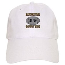 Manufactured 1936 Baseball Cap