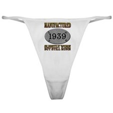 Manufactured 1939 Classic Thong