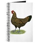 Hamburg Golden Spangled Hen Journal