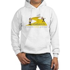 Follow the yellow grid Rd - Hoodie