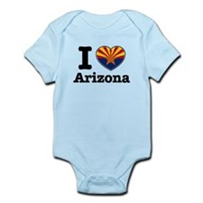 I love Arizona Infant Bodysuit