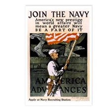 Join the Navy - Be Part of It Postcards (Package o