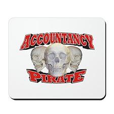 Accountancy Pirate Mousepad