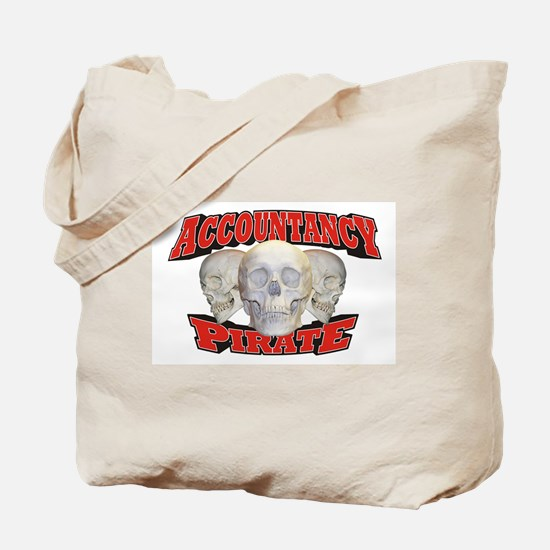 Accountancy Pirate Tote Bag